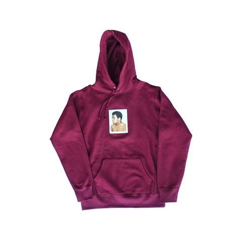 Supreme x Ali/Warhol Hooded Sweatshirt - Burgundy