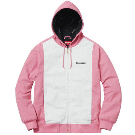 Supreme Pink and White Jacket