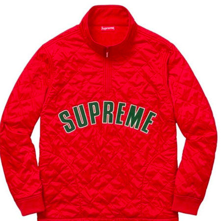 Supreme Red and Green Jacket