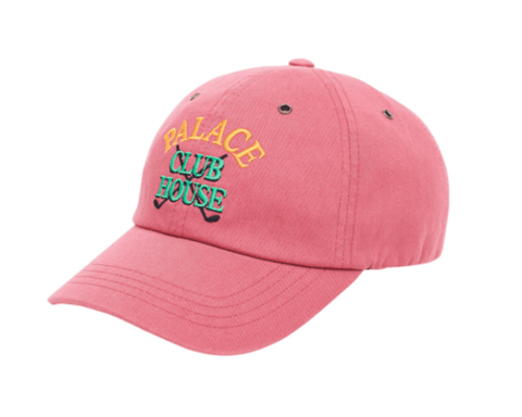 Palace Skateboards Clubhouse 6 Panel (Pink)