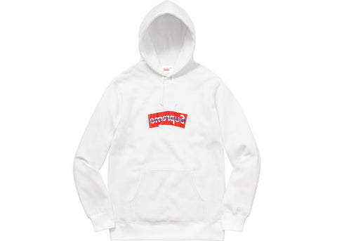 Supreme x Comme des Garcons Hoodie (White)