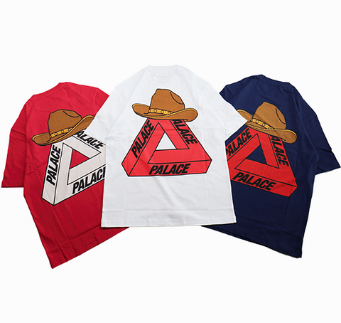 Palace Skateboards Yee Ha T Shirt (multiple colors)