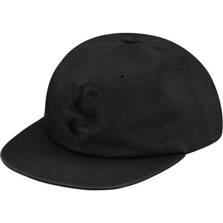 Supreme Tonal Logo 6 Panel (Black)