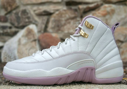 "Air Jordan 12 (XII) GS - ""Plum Fog"""