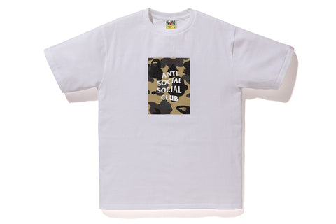 Anti Social Social Club x BAPE Collab Tee (multiple colors)