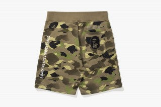 BAPE x UDFTD Camo Sweat Shorts