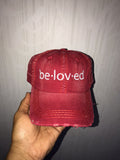 Beloved Distressed Dad Hats (multiple colors)