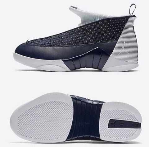 "Air Jordan 15 Retro ""Obsidian"""
