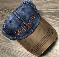 Beloved Distressed Dad Hat  LIMITED