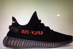 adidas Yeezy Boost 350 v2 - Black / Red