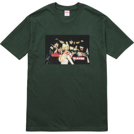 Supreme x Slayer Alter Tee (multiple colors)