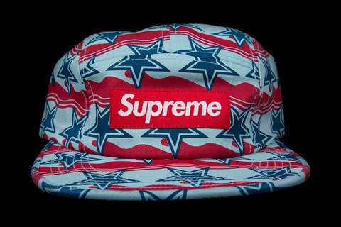 Supreme You're Dead Camp Cap - Dark Red