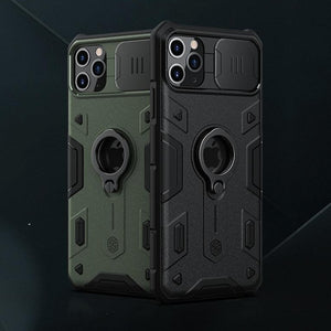 Camshield Armor Cover Slide Camera Protection Case for iPhone