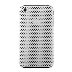 Perforated iPhone 3G 3GS Snap Case - White - iPhone Accessories - iPhone 3G 3GS Cases & Covers NZ - 1