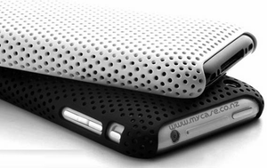 Perforated iPhone 3G 3GS Snap Case - White - iPhone Accessories - iPhone 3G 3GS Cases & Covers NZ - 2