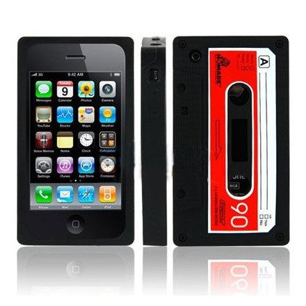 Retro Cassette iTape iPhone 3G 3GS Case (Black) - iPhone Accessories - iPhone 3G 3GS Cases & Covers NZ