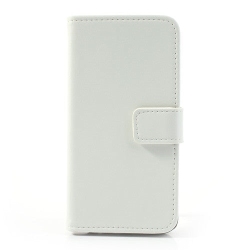 Genuine Split Leather iPhone 5C Wallet Case - White - iPhone Accessories - iPhone 5C Case | iPhone 5C Cover - 3