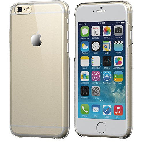 factory authentic 488e5 80fb0 Crystal Clear Transparent iPhone 6 6S Hard Case