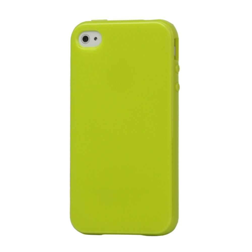 Lustrous TPU Case for iPhone 4 4S - Green - iPhone Accessories - iPhone 4 Cases | iPhone 4S Case - 1