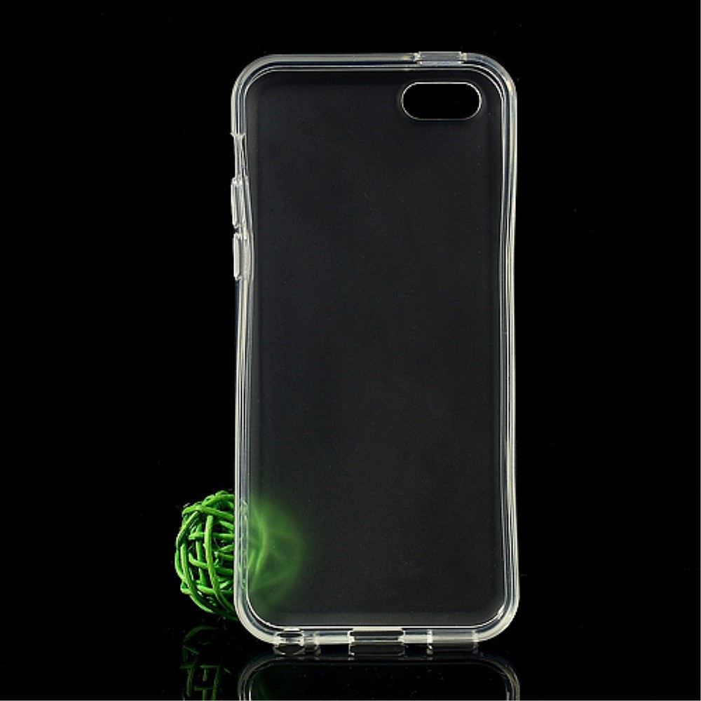 Transparent Glossy Outer Frosted Inner TPU Gel iPhone 5C Case - iPhone Accessories - iPhone 5C Case | iPhone 5C Cover - 2