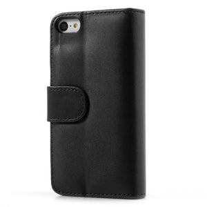 PU Leather Flip Wallet iPhone 5C Case - Black - iPhone Accessories - iPhone 5C Case | iPhone 5C Cover - 2