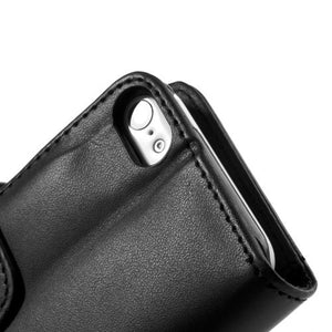 PU Leather Flip Wallet iPhone 5C Case - Black - iPhone Accessories - iPhone 5C Case | iPhone 5C Cover - 9