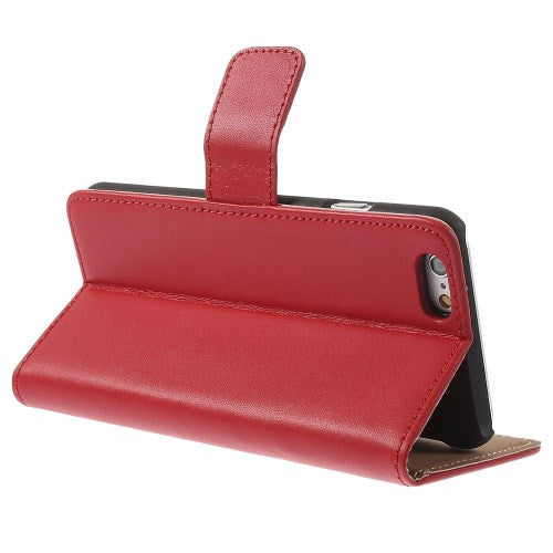 iPhone 6 6S Leather Wallet Stand Case - Red - iPhone Accessories - iPhone 6 Case | iPhone 6S Case - 5