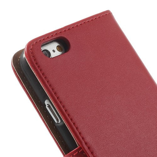 iPhone 6 6S Leather Wallet Stand Case - Red - iPhone Accessories - iPhone 6 Case | iPhone 6S Case - 10