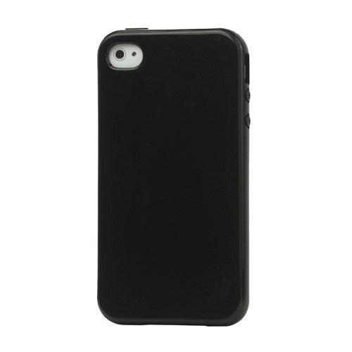 Lustrous TPU Case for iPhone 4 4S - Black - iPhone Accessories - iPhone 4 Cases | iPhone 4S Case - 1