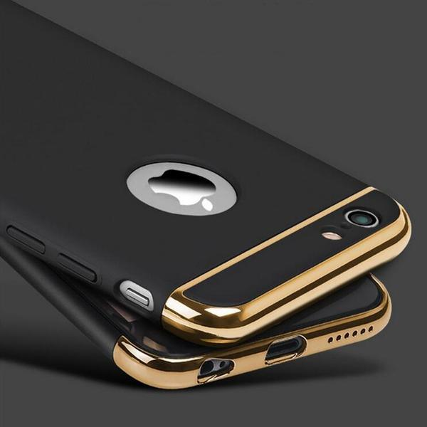 ca911d7a22 Ultra-thin Shockproof Armour Plated 360 Protection Case for iPhone