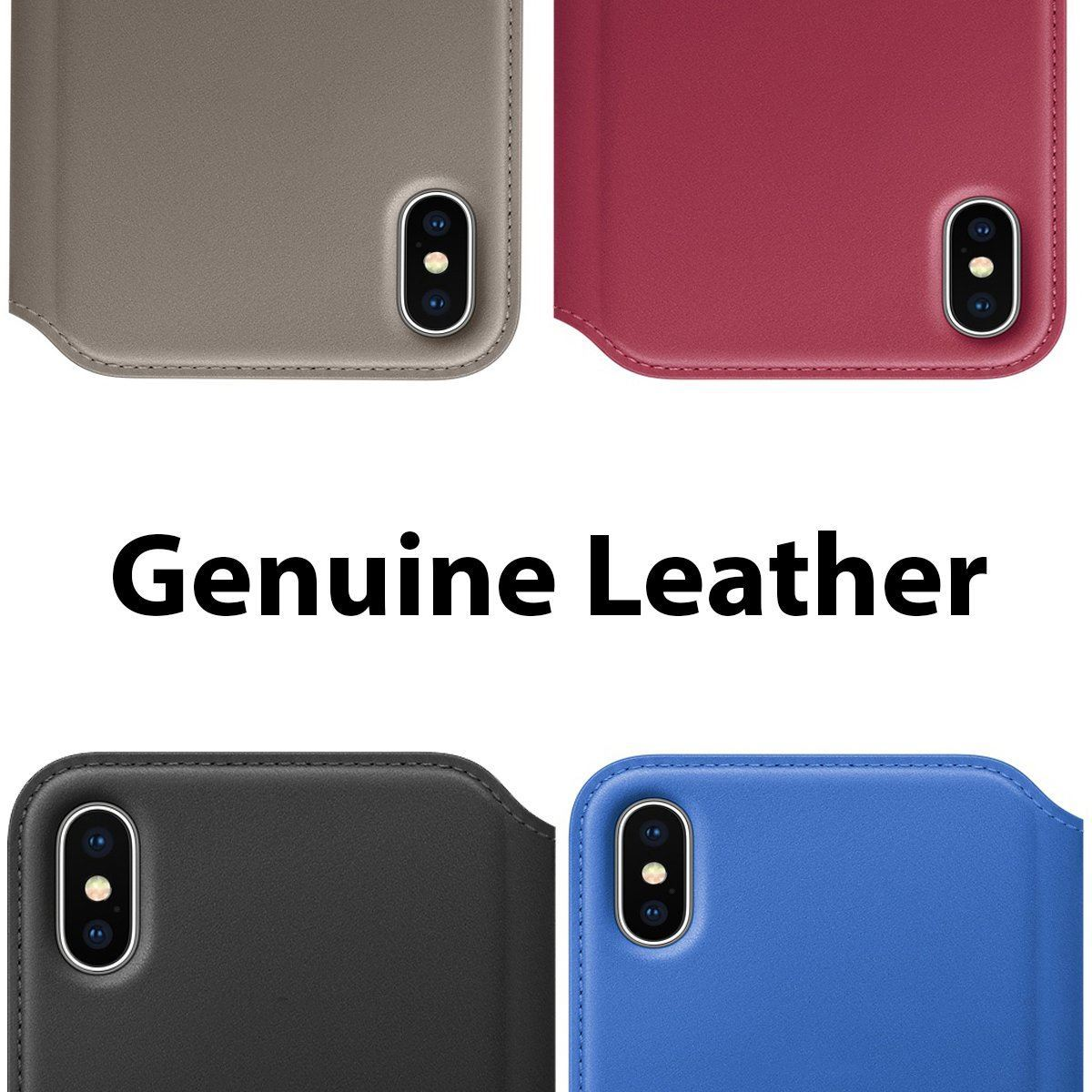 Genuine Leather Folio iPhone 6 Case