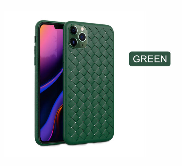 Breathable Mesh Case For iPhone Weaving BV Grid Cover