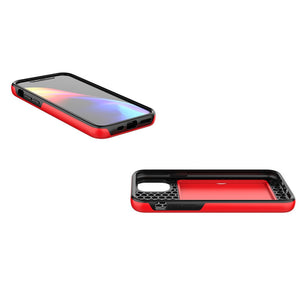 iPhone Case with Armor up to 3 Card Slot