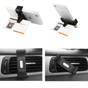 Portable Air Vent Car Mount Holder - Black - iPhone Accessories - iPhone Holder Stand NZ - 10