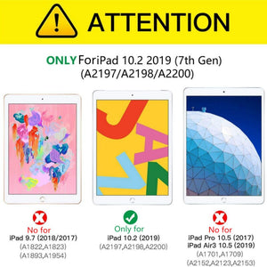"iPad 10.2"" (2019) Auto Sleep 360 Degree Rotating Cover"
