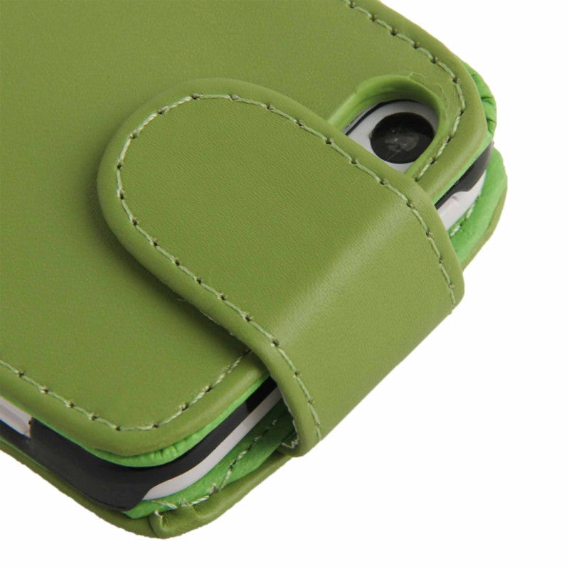 Soft PU Leather iPhone 5C Flip Case Cover - Green - iPhone Accessories - iPhone 5C Case | iPhone 5C Cover - 4