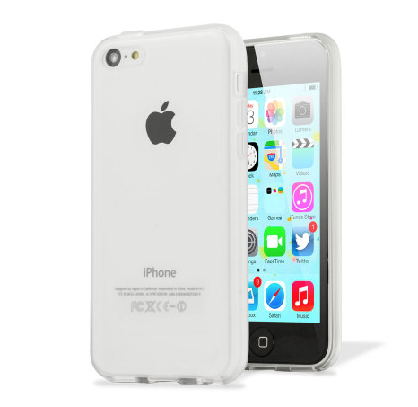 Transparent Glossy Outer Frosted Inner TPU Gel iPhone 5C Case - iPhone Accessories - iPhone 5C Case | iPhone 5C Cover - 1