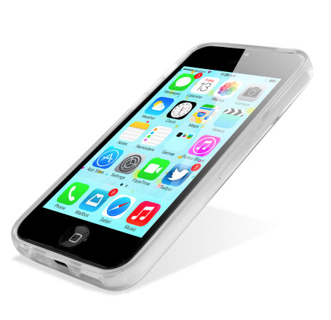 Transparent Glossy Outer Frosted Inner TPU Gel iPhone 5C Case - iPhone Accessories - iPhone 5C Case | iPhone 5C Cover - 3