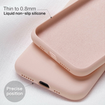Cute Candy Color Soft Silicone Back iPhone Case Cover