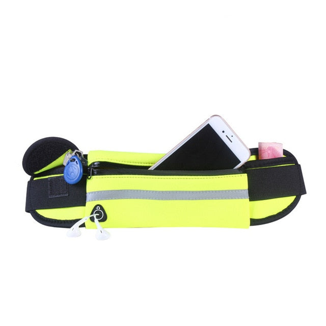 Universal 6 inch Waterproof Sport Running Waist Belt armband alternatvie