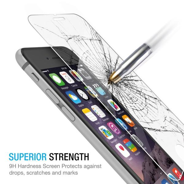 Tempered Glass Film for iPhone  【SELECT YOUR MODEL】