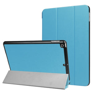 iPad 2017 9.7 inch Horizontal Flip PU Leather Case with Three-folding Holder