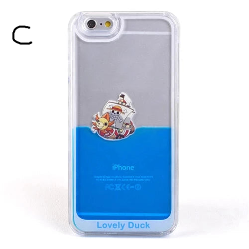 Floating Duck Hard Case For iPhone 5 5S SE/6 6S/6 Plus/6S Plus/7 7 Plus