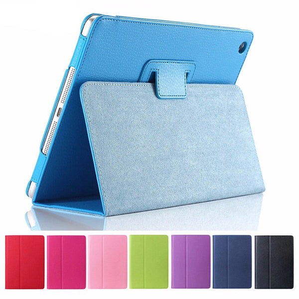 Apple iPad Air 2 Flip Litchi PU Leather Wake Up Sleep Case Cover with Smart 9318da1057