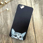Fashion Thin Funny Cat & Dog Design Back Covers For iPhone 6 6S 4.7inch - iPhone Accessories - iPhone 6 Case | iPhone 6S Case - 34