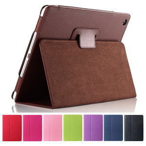 Litchi protective PU leather case for iPad 2/3/4 with sleep wake up function - iPhone Accessories - iPad Cases & Covers - 1