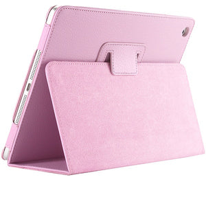 Litchi protective PU leather case for iPad 2/3/4 with sleep wake up function - iPhone Accessories - iPad Cases & Covers - 11