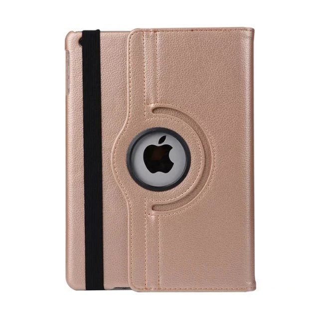 iPad 9.7 2017 2018 360 Rotation Smart Auto Sleep/Wake cover case For iPad Air 1 / Air 2