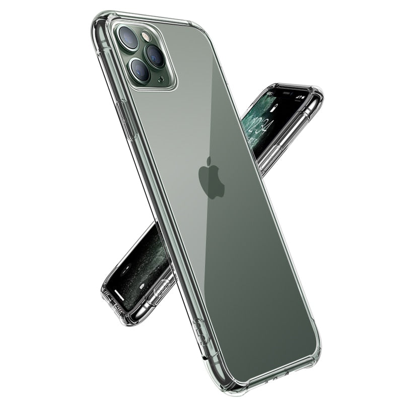 Shockproof TPU Cases For iPhone Transparent Cover