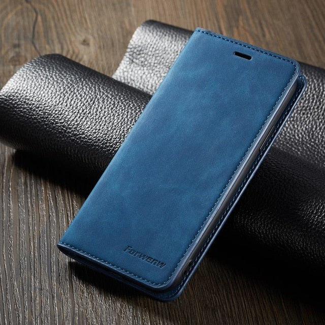 iPhone Wallet PU Leather Case Cover with Card Holder